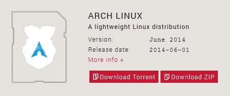 Arch linux raspberry pi image download